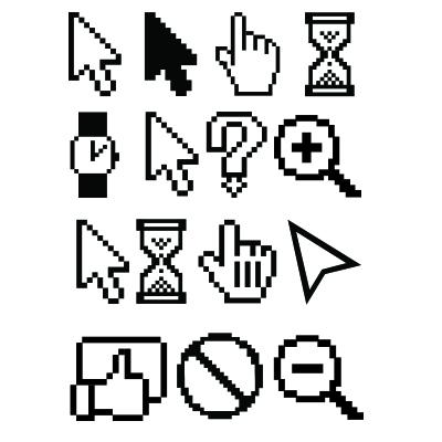 PC und MAC Symbole