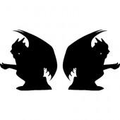 Gargoyles, sitzend