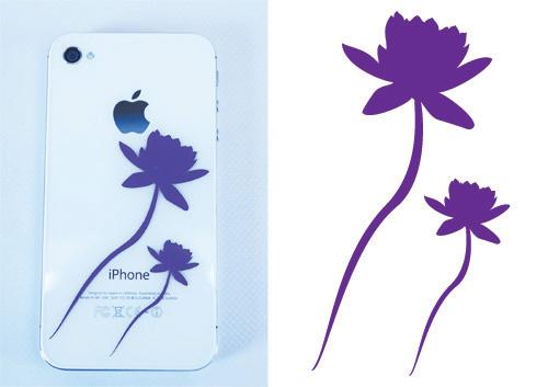 Blumen für das Iphone