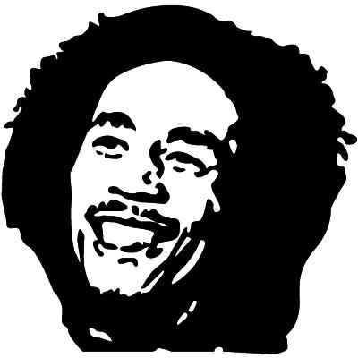 Bob Marley Silhouette 1