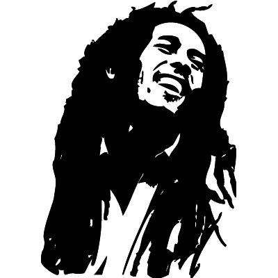 Bob Marley Silhouette 2