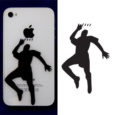 Fussballer für das Iphone