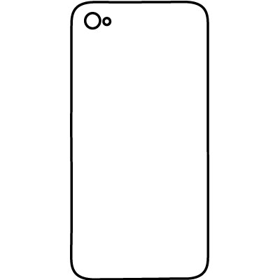 Actual Size Iphone Coloring Page