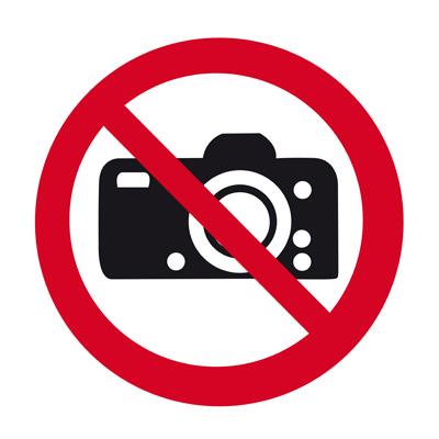 Kamera Verbot