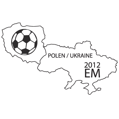 EM 2012 Silhouette 1 Polen / Ukraine