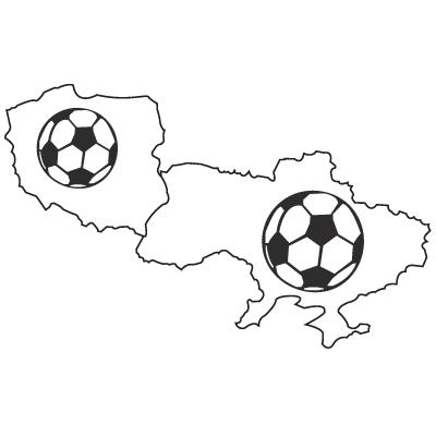 EM 2012 Silhouette 2 Polen / Ukraine