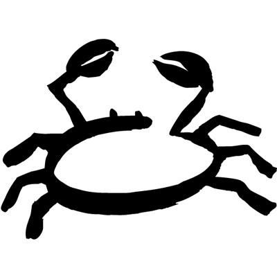 top sternzeichen krebs symbol images for pinterest tattoos. Black Bedroom Furniture Sets. Home Design Ideas