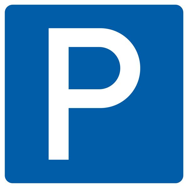 Parken Aufkleber 30cm