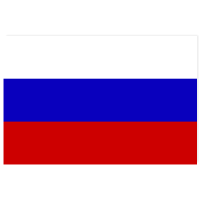 Nationalflagge Russland