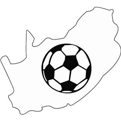Süd-Afrika Silhouette 3