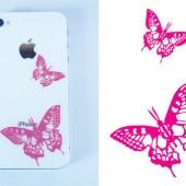 Schmetterlinge für das Iphone