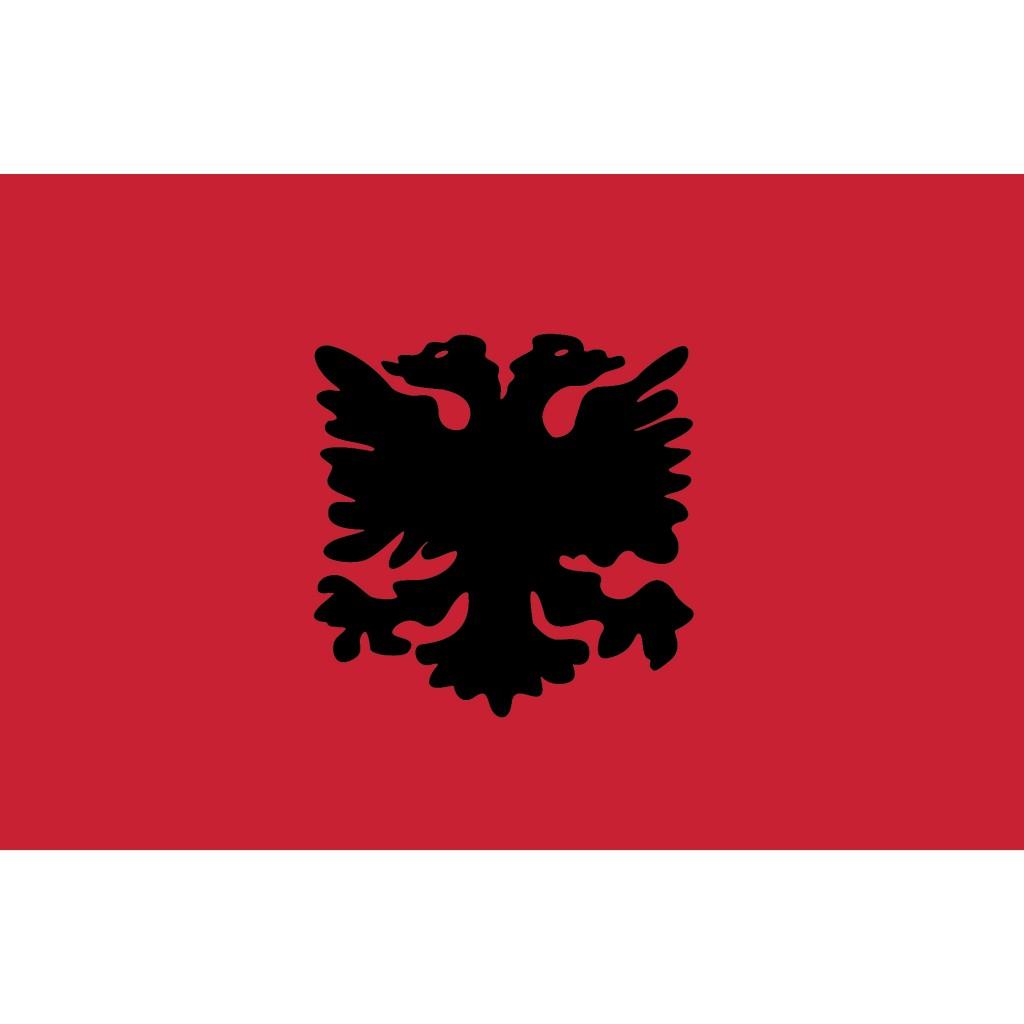 Nationalflagge Albanien