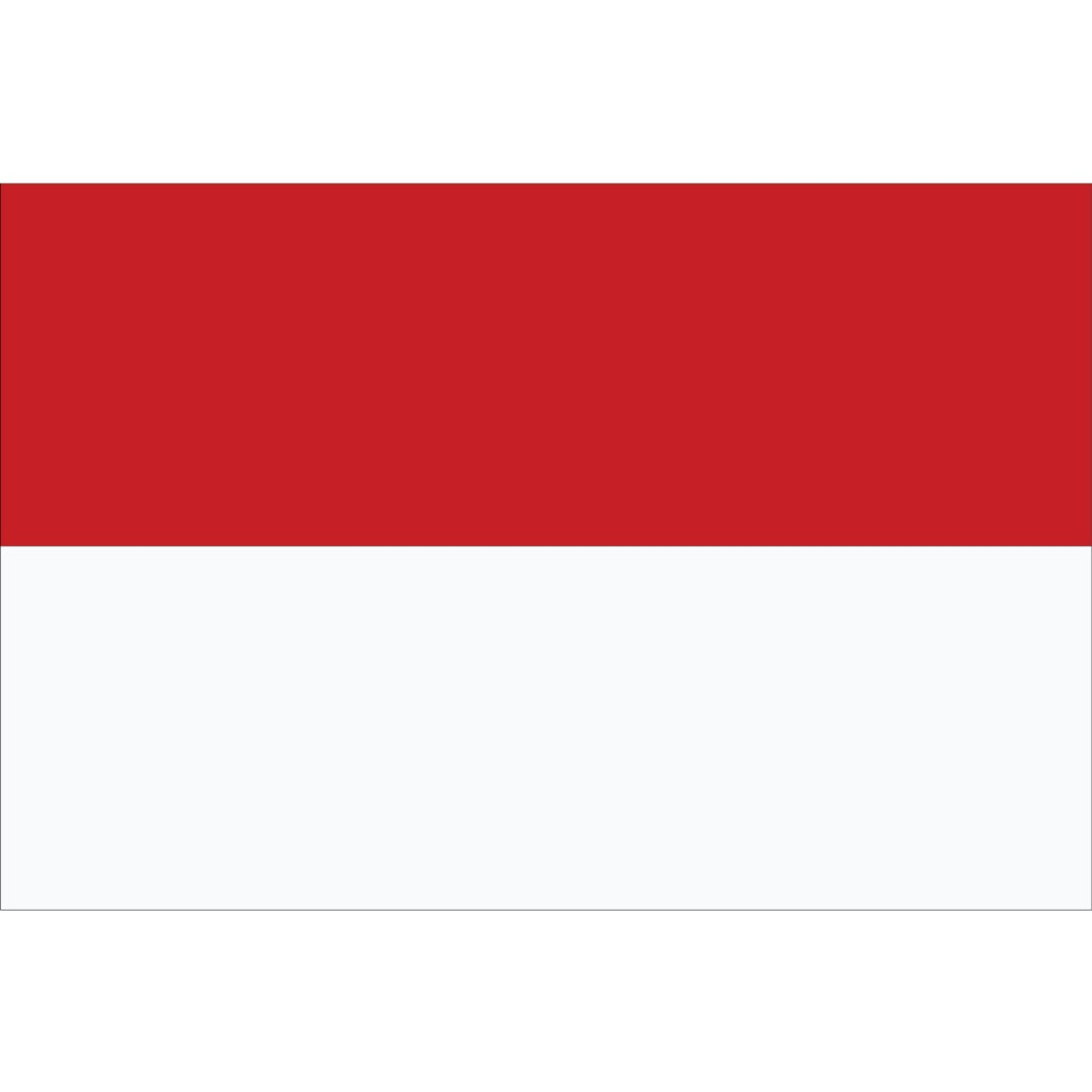 Nationalflagge Monaco