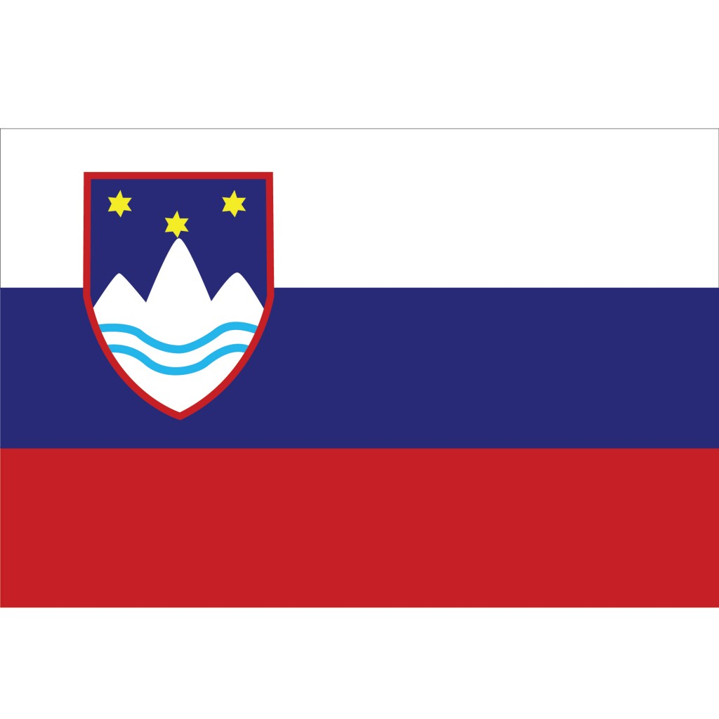 Nationalflagge Slovenien