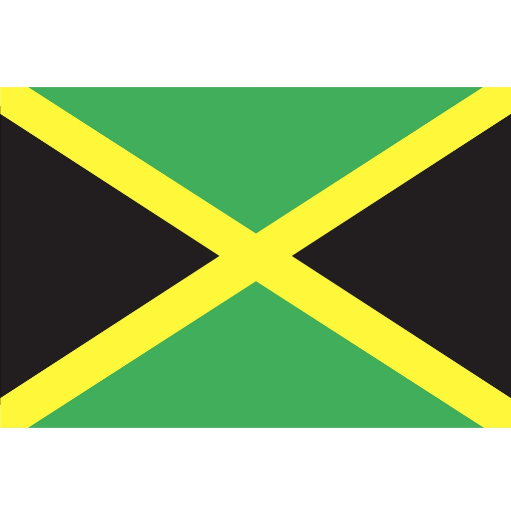 Nationalflagge Jamaica