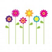 Blumen mehrfarbig