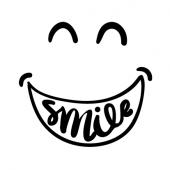 iPhone Smiley für Rückseite