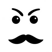 iPhone Gesicht Nr.2 für Rückseite