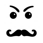 iPhone Gesicht Nr.6 für Rückseite